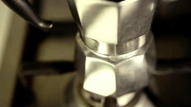 Schwenken auf italienischen Kaffee, Mokka