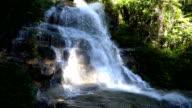4K Panning shot of Mon Tha Than waterfall.