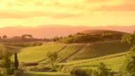 Panorama in Italy countryside