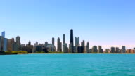 Panorama of Chicago, IL