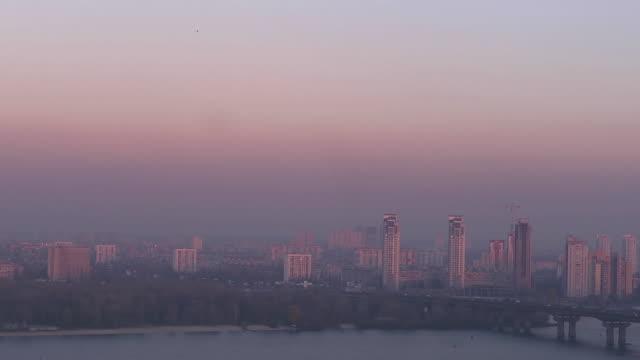 Panorama view suburbs