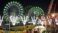 Panoramic View of Dussehra fair, Delhi, India