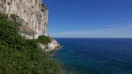 Panoramic view of French Riviera