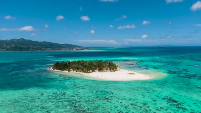 Panoramic view of Managaha Island / Saipan, Northern Mariana Islands, USA