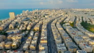 Panoramic view of residential district near the sea