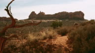 Panoramic view of the Arches national park, Utah
