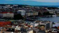 Panoramablick auf den Genfer
