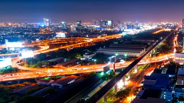 Vista panoramica del paesaggio urbano di Bangkok Tailandia