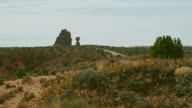 Panoramablick auf das Balancing Rock, Arches-Nationalpark, Utah