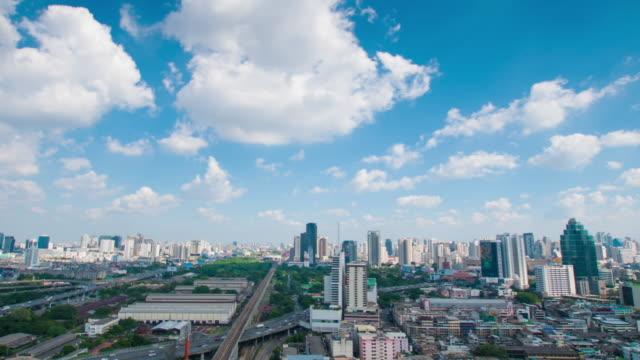 4 K : Panoraminc Blick auf Bangkok