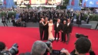 Paolo Sorrentino Jude Law James Cromwell Cecile de France Ludivine Sagnier and more on the red carpet at the Venice Biennale Film Festival 2016 the...
