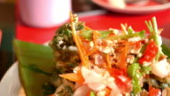 Papaya-Salat, thailändische Küche