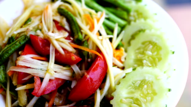 papaya salad-Thai food