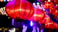 Paper Lanterns in Chinese New Year