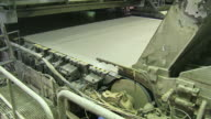MS TU Paper machine at paper mill / Weener, Lower Saxony, Germany