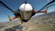 Parachute Fast Turn Selfie