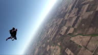 Paracadute apertura di