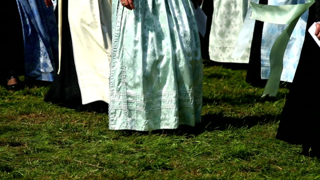 Parade of Traditionally Dressed Bavarian Women