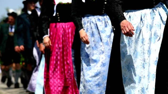 Parade of Traditionally Dressed Bavarians