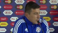 Paraguay are determined to win their Copa America semi final clash with Argentina on Tuesday says forward Edgar Benitez