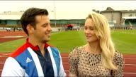 Paralympian Nathan Stephens dances for first time at his wedding WALES Swansea EXT Nathan Stephens and his wife Charlene Stephens interview SOT/...