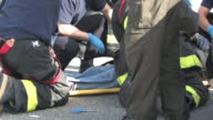 Paramedics At Emergency Scene - Real EMTs In Action