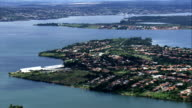 Paranoa Lake  - Aerial View - Federal District, Brasília, Brazil