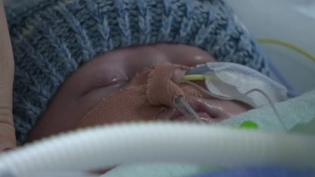 Parents of sixweekold baby appeal for new heart Zdenka Reinhardt interview SOT Charlei Douthwaite in hospital with partial interview overlaid SOT...