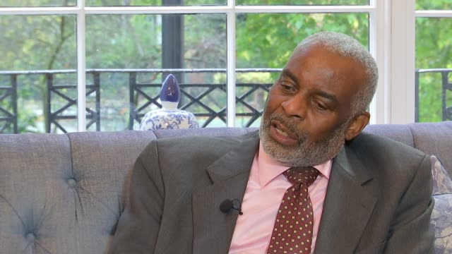 Parents of Stephen Lawrence and Damilola Taylor campaign against knife crime London INT Neville Lawrence interview SOT