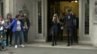 Parents of terminally ill baby Charlie Gard present petition to Great Ormond Street Hospital T08061736 / 862017 Connie Yates and Chris Gard from the...