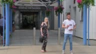 Parents of terminally ill baby Charlie Gard present petition to Great Ormond Street Hospital ENGLAND London EXT Various of Connie Yates and Chris...