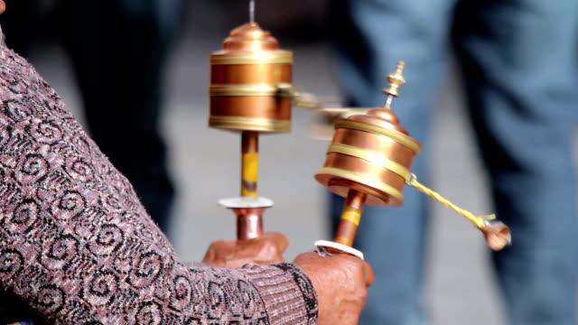 Parikrama (religious practice with prayer wheels)