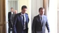 Paris 2024 bid co chairman and three time Olympic slalom canoe champion Tony Estanguet met with French President Emmanuel Macron on Monda to touch...