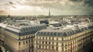 Paris Cityscape Timelapse