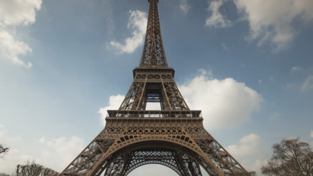 Parijs - Eiffel Tower - TIME-LAPSE