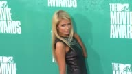 Paris Hilton at 2012 MTV Movie Awards Arrivals at Gibson Amphitheatre on June 03 2012 in Universal City California