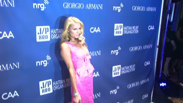 Paris Hilton at 3rd Annual Sean Penn Friends 'Help Haiti Home' Gala Presented By Giorgio Armani To Benefit J/P Haitian Relief Organization on at...