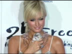 Paris Hilton at the 2 B Free Spring 2006 Collection at Paramount Studios in Hollywood California on October 16 2005