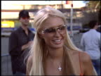Paris Hilton at the 2003 Teen Choice Awards at Universal Amphitheatre in Universal City California on August 3 2003