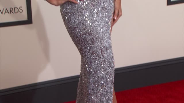 Paris Hilton at The 57th Annual Grammy Awards Red Carpet at Staples Center on February 08 2015 in Los Angeles California