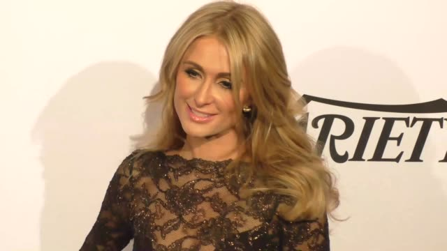 Paris Hilton at the AltaMed Health Services' Power Up We Are The Future Gala at the Beverly Wilshire Four Seasons Hotel in Beverly Hills in Celebrity...
