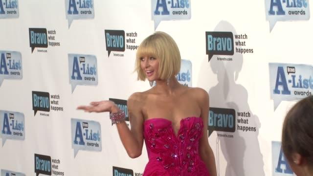 Paris Hilton at the Bravo's AList Awards at Los Angeles CA