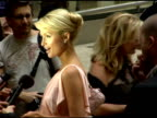 Paris Hilton at the Party in Honor of Paris Hilton's New Fragrance at Le Cirque in New York New York on June 14 2006
