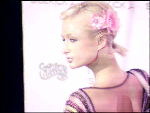 Paris Hilton at the TMobile Sidekick Party on October 18 2005