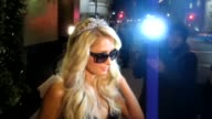 Paris Hilton celebrates her birthday at Beso in Hollywood 02/28/12