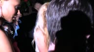 Paris Hilton departing the Warner Music Group Grammy After Party at the Chateau Marmont at Celebrity Sightings in Los Angeles on February 08 2015 in...