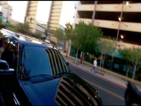 Paris Hilton leaving the Clark County Courthouse at the Paris Hilton Court Appearance at the Clark County Regional Justice Center at Las Vegas NV
