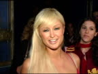Paris Hilton says hello to WireImage at the Red Party in Celebration of the First Anniversary of Spider Club Hosted By Paris Hilton at Spider Club in...