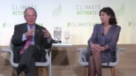 Paris Mayor Anne Hidalgo and former New York City Mayor Michael Bloomberg both called for urgent action in fighting climate change at the local level...