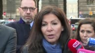 Paris Mayor Anne Hidalgo said the evacuation of the Louvre museum will take place in a very simple and direct manner following the attack on a...